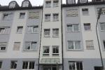 Neu gestaltete und gestrichene Fassade in München Giesing
