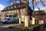 Denkmalgeschützte Villa vor Baubeginn